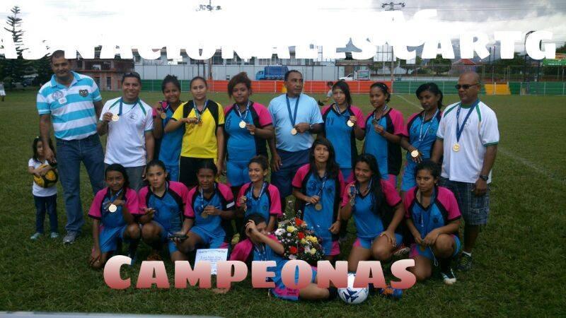 Liceo Santa Cruz Campeón Futbol Femenino