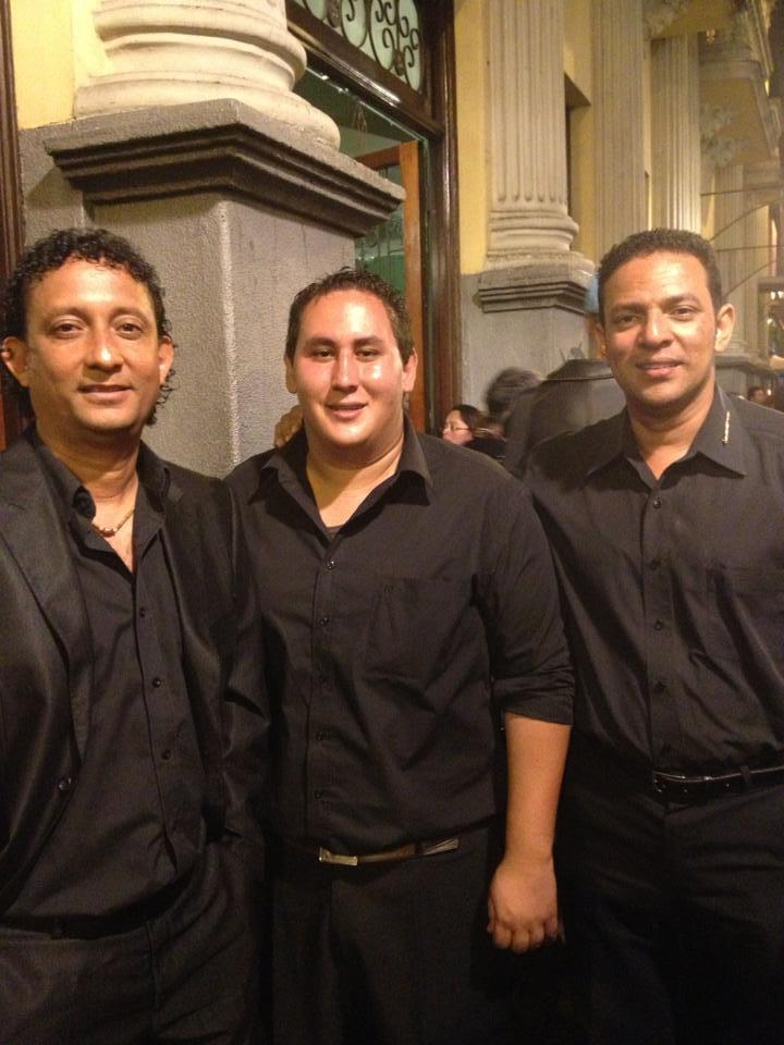 Santacruceños Abel Guadamuz y Leiner Matarrita fueron homenajeados en el Teatro Melico Salazar