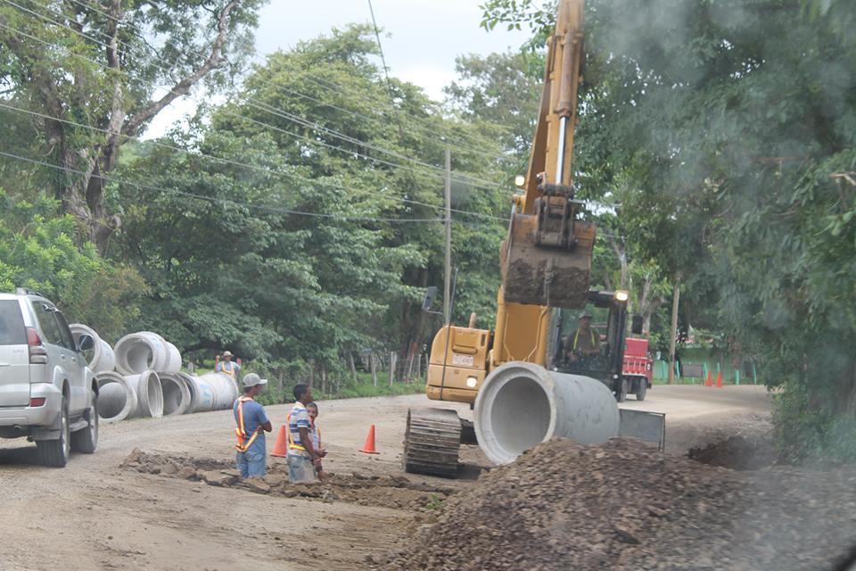 Avanzan las obras en la contrucción de la carretera 27 de Abril-Villareal