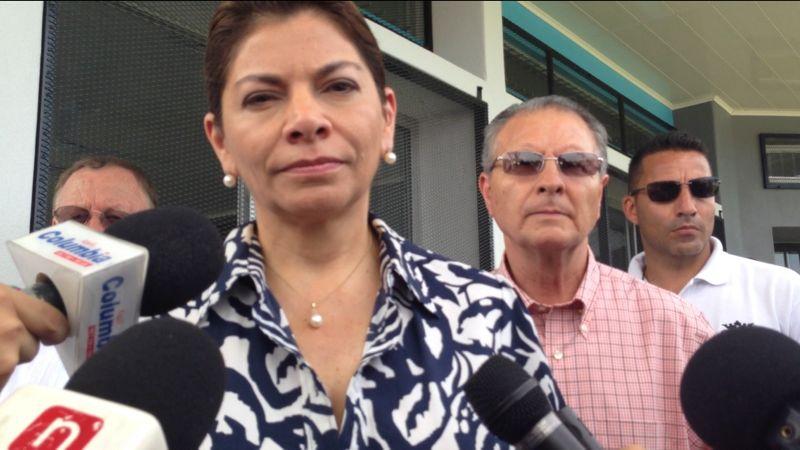 Presidenta no descarta faltar a actos cívicos del 25 de julio, si Municipalidad de Nicoya lo pide