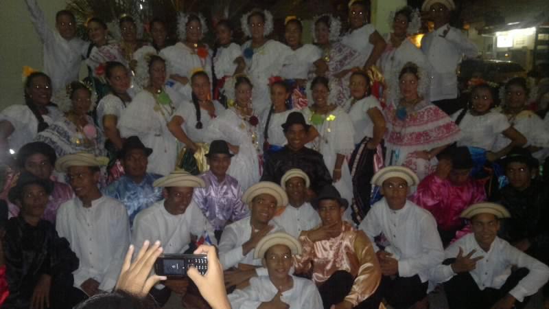 De extraordinaria, califican la participación del grupo Folclórico Colpachi en su visita a Nicaragua