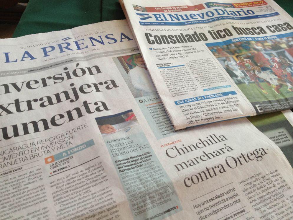 Prensa de Nicaragua destaca la marcha de Laura Chinchilla en Guanacaste