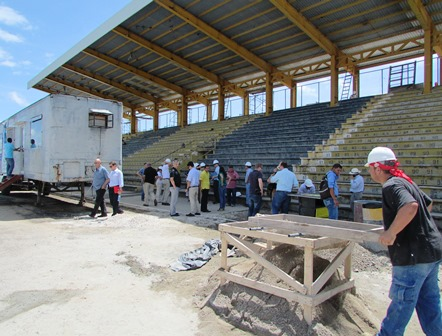 FIFA satisfecha con los avances de las obras en Liberia