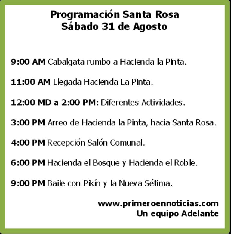 [Audio] Tradicional Arreo, se realizará mañana sábado en la Comunidad de Santa Rosa