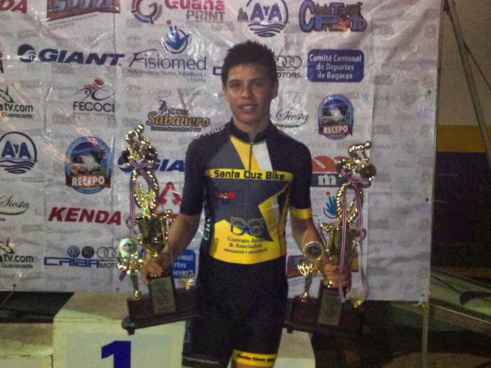 [Audio] Santacruceño Pablo Cascante obtiene el campeonato, de la III Copa Guanacasteca de Ciclismo