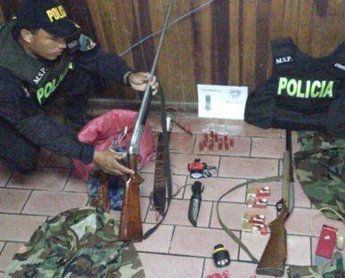 Fuerza Pública captura a dos sujetos por caza ilegal en Parque Nacional Guanacaste