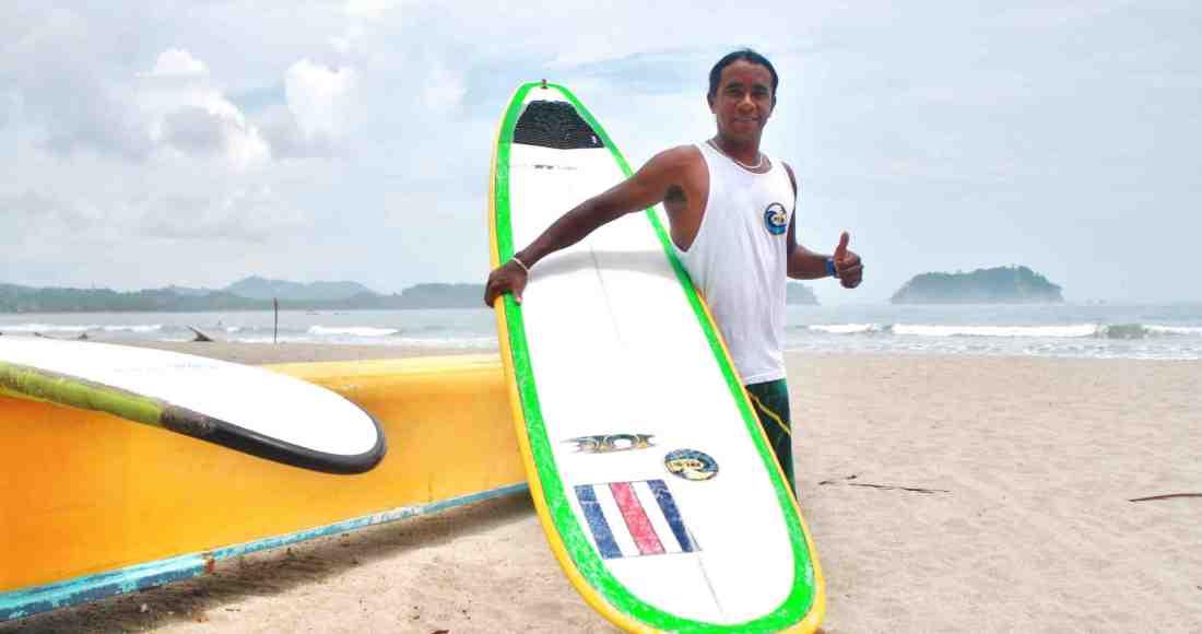 Samareño promete darlo todo en mundial de surf