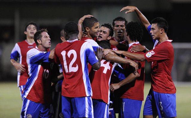 A un triunfo de que Costa Rica logre boleto boleto a Brasil 2014