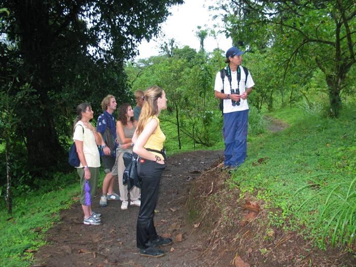 INA realizará curso de Guía Naturalista, en la comunidad de Potrero