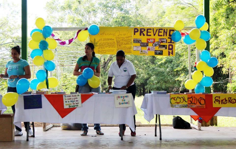 CTP de Cartagena Inició su lucha contra las drogas, con una feria educativa