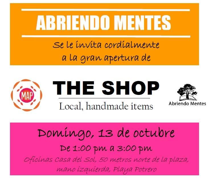 [Audio] Organización Abriendo Mentes, anuncia la apertura de The Shop local, Handmade Items