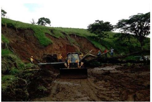 Conavi reporte cierre Total en la Ruta: Fortura-Tilarán por lluvias