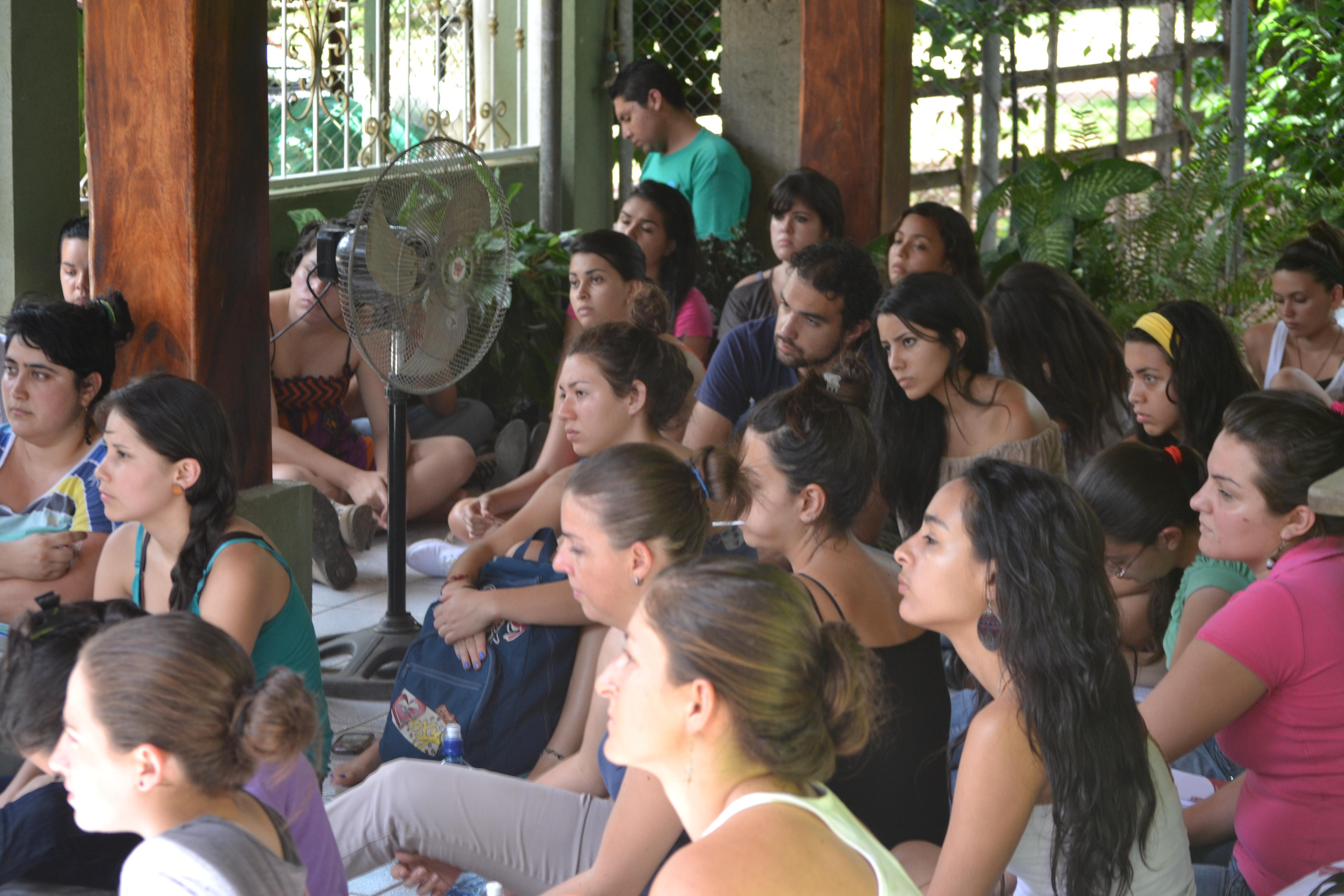 Estudiantes de la UCR se reunieron con líderes de Sardinal Guanacaste, en pro defensa del Agua