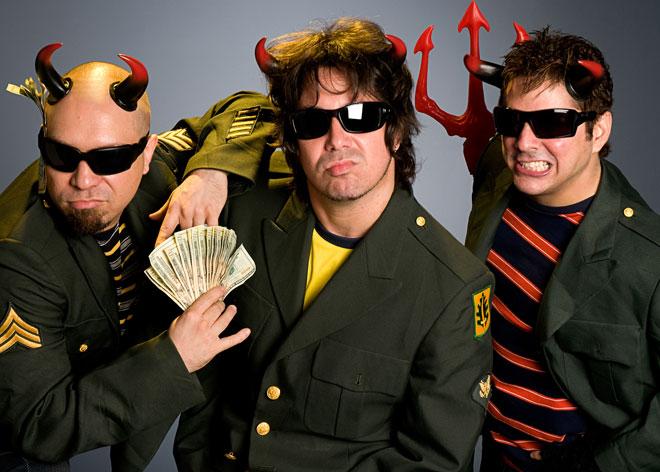 Banda de Rock latino los Rabanes, se presentaran en Nicoya este fin de semana