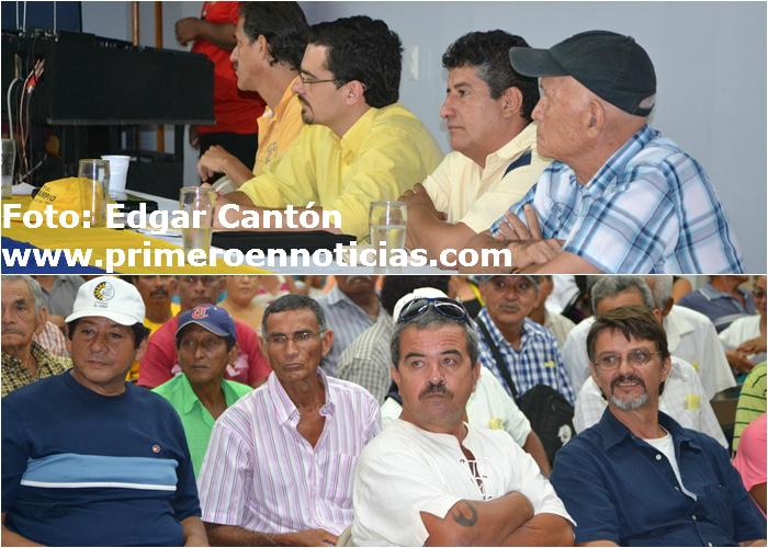 Candidato a la presidencia Jose María Villalta, dialogó con distintas organizaciones en su visita a Nicoya