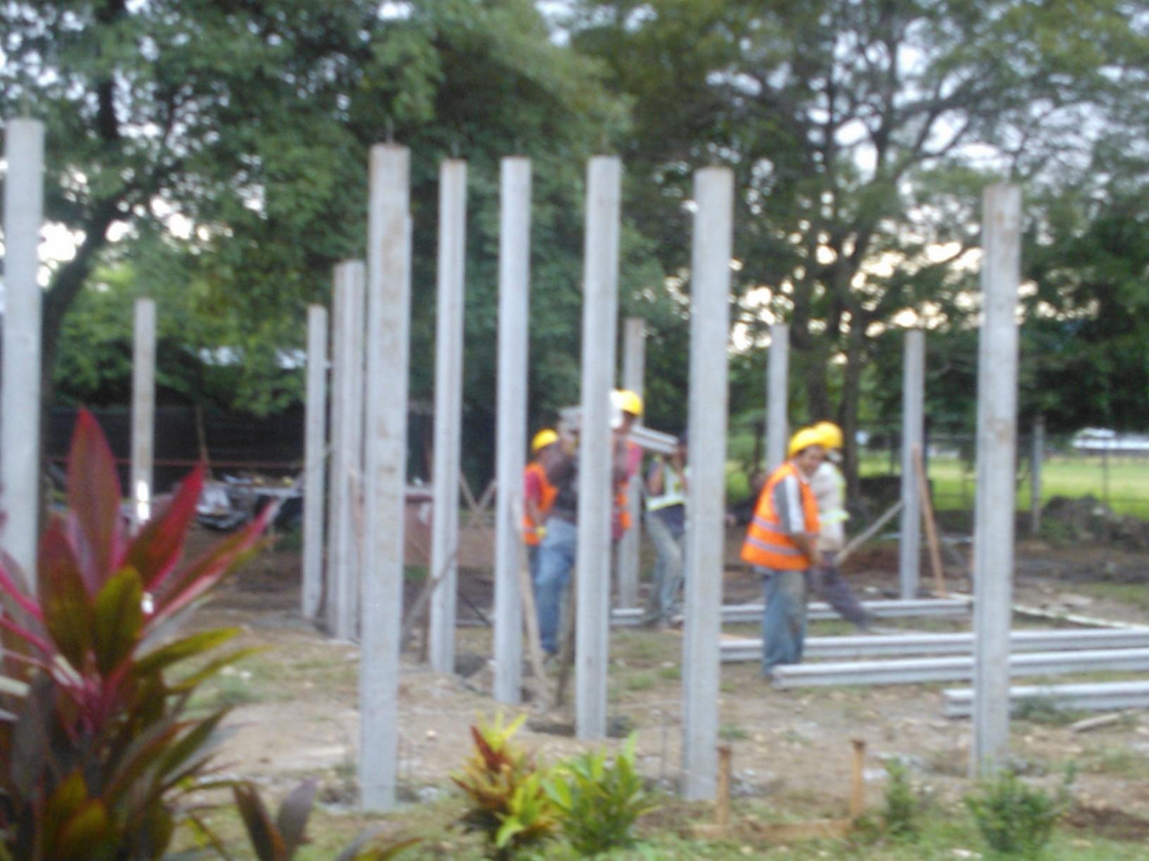 [Audio] Inician obras de construcción de 2 nuevos pabellones y un comedor, en del CTP de Santa Bárbara en Santa Cruz