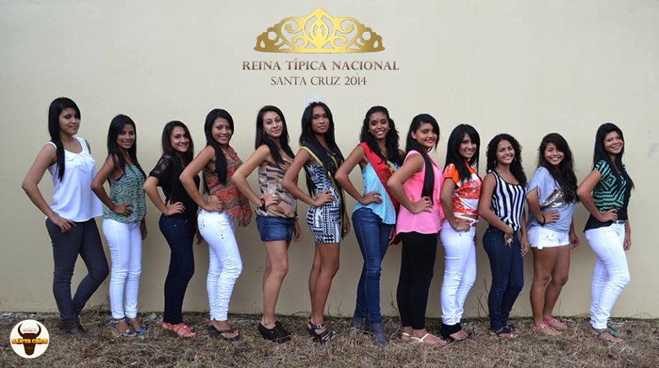 Desfile de Presentación de las Candidatas a Reina de las Fiestas Típicas Nacionales Santa Cruz 2014 será este próximo Viernes 15 de Noviembre