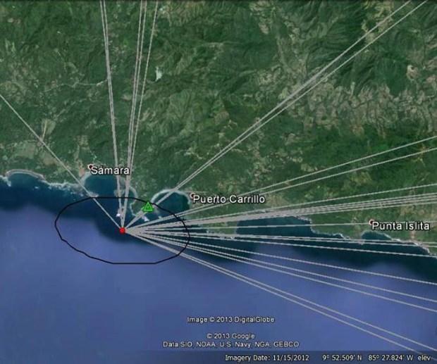 Replica sentida el fin de semana, fue del terremoto en Nicoya, según Ovsicori