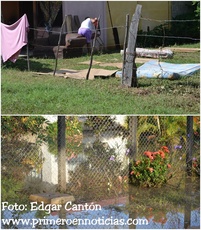 Lluvias de las últimas horas ocasionaron inundaciones en Belén de Carrillo