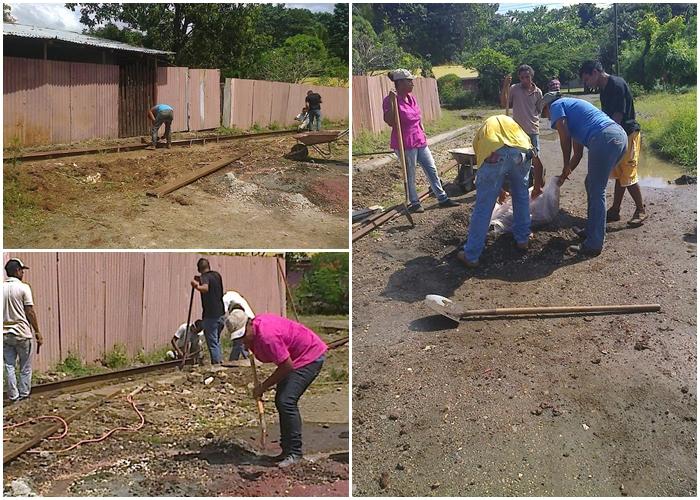Convenio entre Municipalidad de Santa Cruz, INA y IMAS permite la construcción de nuevas aceras en Barrio Chorotega